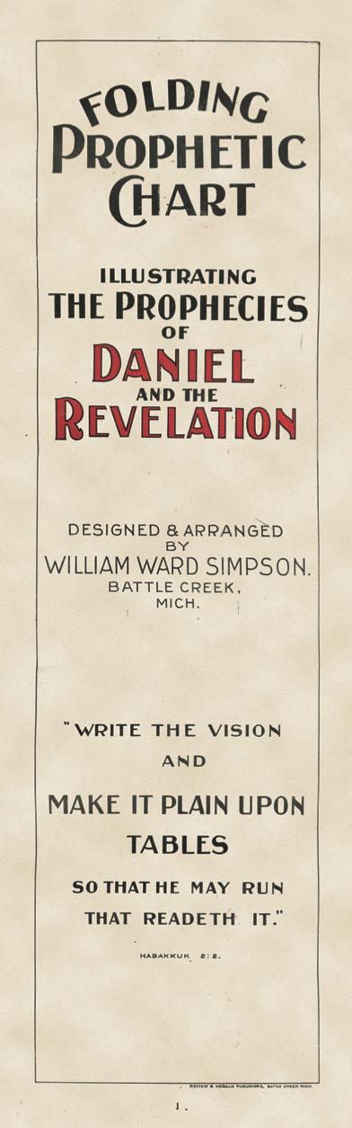 Daniel and Revelation Prophecy Chart – Stanborough Press