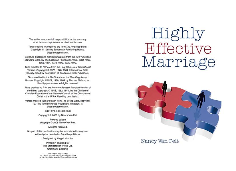 Highly Effective Marriage By Nancy Van Pelt Pdf
