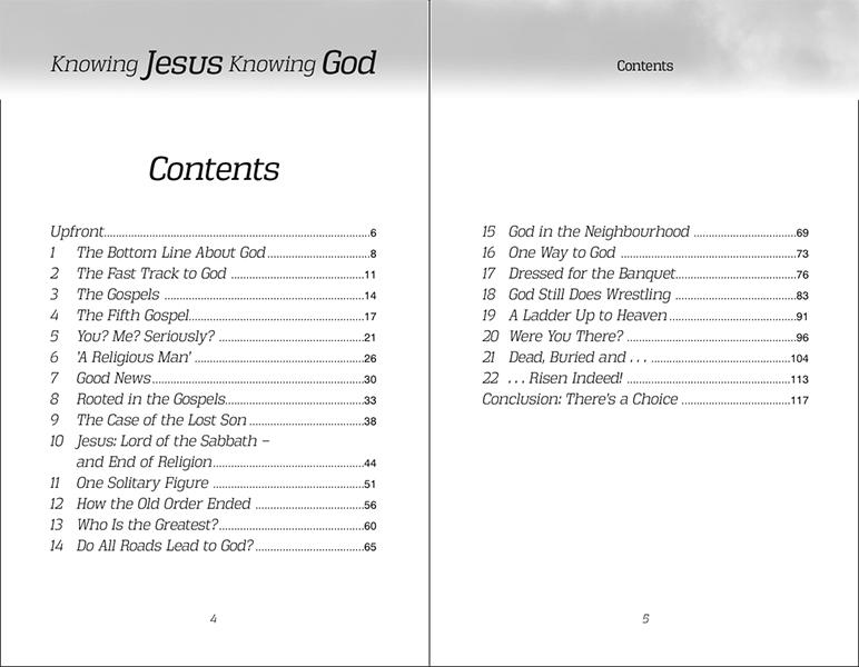 Knowing Jesus Knowing God – Stanborough Press